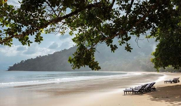 Picture perfect Datai Bay Beach