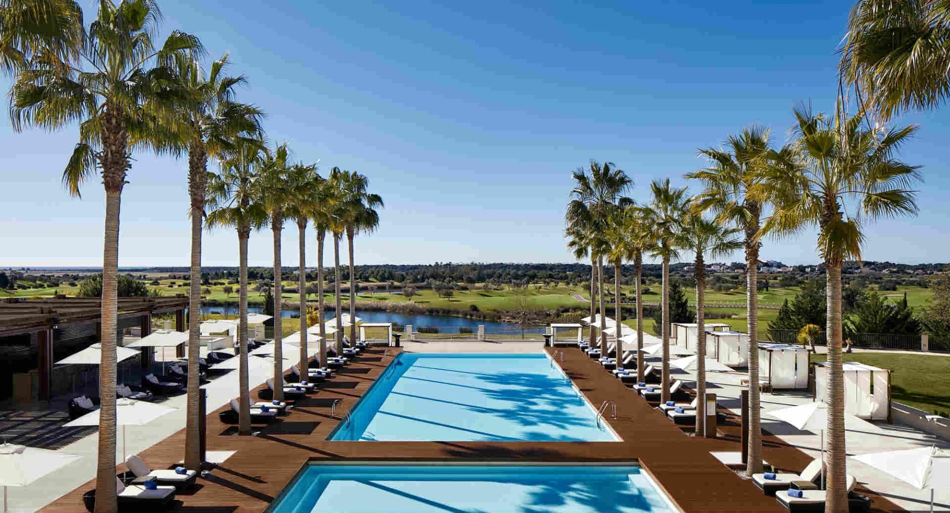 Anantara Vilamoura Main Pool View