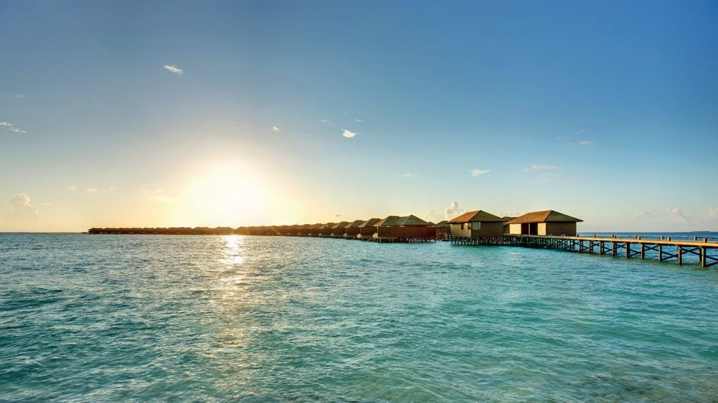 Hideaway Beach Resort Over water bungalows